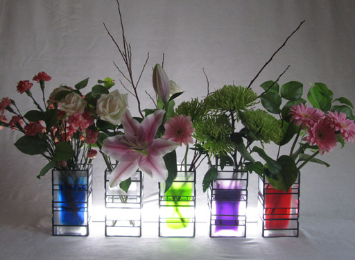 Colourful Contemporary Vases
